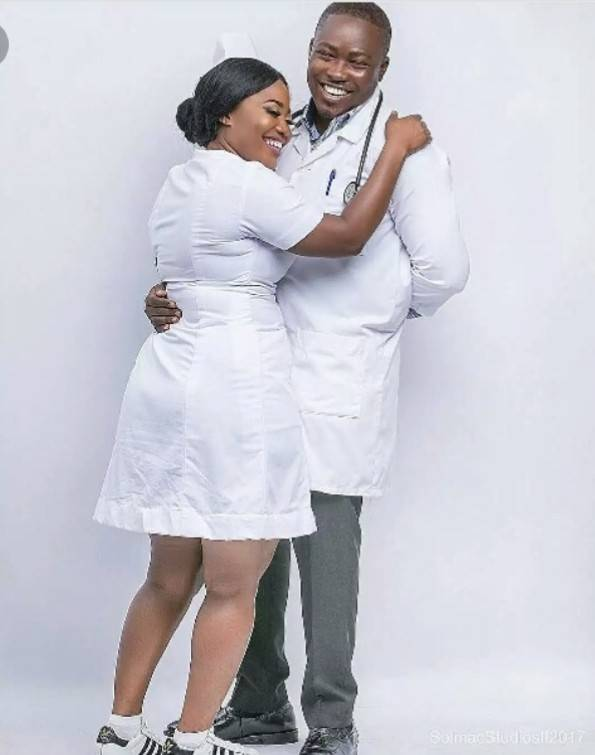 Check Out These 10 Classy Pre-wedding Photos Of Medical Doctors 4
