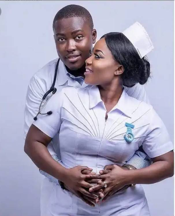 Check Out These 10 Classy Pre-wedding Photos Of Medical Doctors 9
