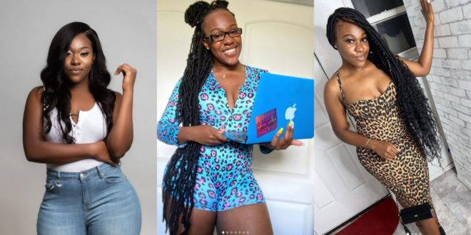 Checkout 5 beautiful Photos of Efia Odo's 21 year old Kid sister 1