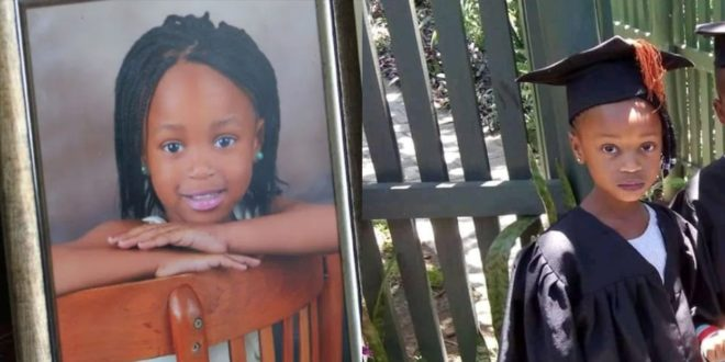 6-year-old girl raped, stabbed to death and dumped naked in South Africa 1
