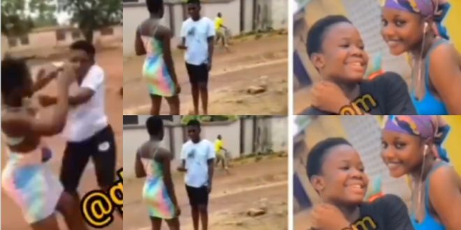JHS girls dirty themselves over a guy because of iPhone 1