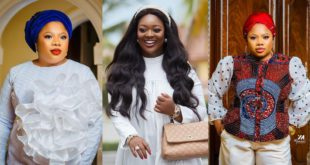 Jackie Appiah Celebrates the woman behind Her success With Beautiful Photos 9