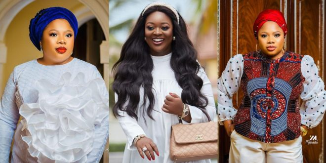 Jackie Appiah Celebrates the woman behind Her success With Beautiful Photos 1