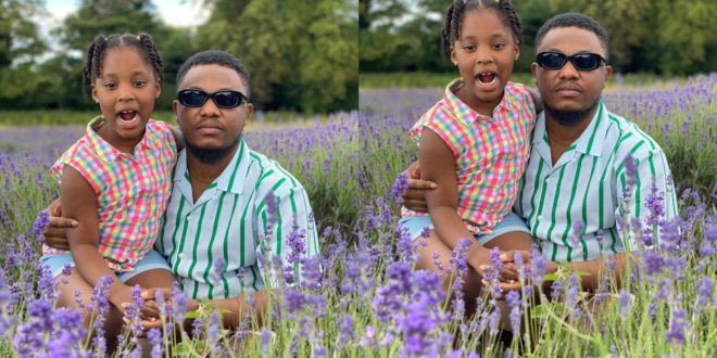 Yolo Actor, King George Shared Lovely Moment With His Beautiful Daughter 1