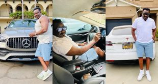 Koo Fori flaunts New Manson and luxery Cars In America 97