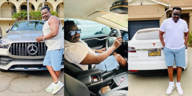 Koo Fori flaunts New Manson and luxery Cars In America 1