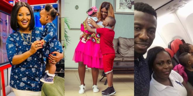 Check Out Photos Of These Kumawood Stars With Their Kids 1