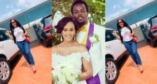 Kwaw Kese's beautiful wife flaunts her fleet of cars on social media 86