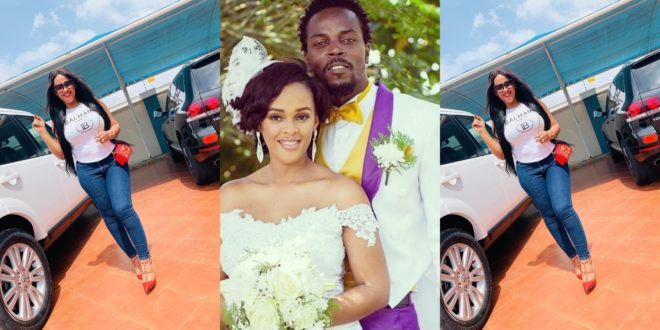 Kwaw Kese's beautiful wife flaunts her fleet of cars on social media 1