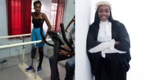 Disability Is Not Inability – Lady Shares Success story of becoming a lawyer after amputation 72