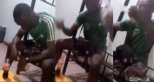 broken heart causes young  man to eats Banku and coka cola 71