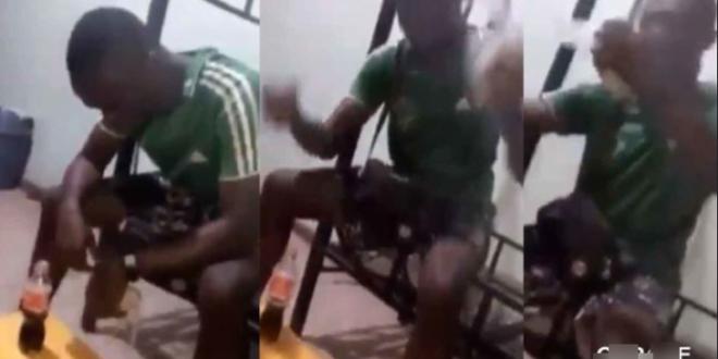 broken heart causes young  man to eats Banku and coka cola 1