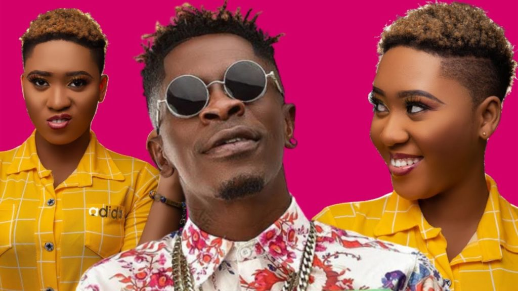 Jackeline Mensah Finally Meets Shatta Wale