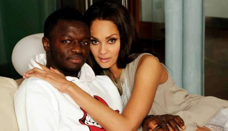 Sulley Muntari and wife