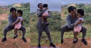 McBrown works out with Baby Maxin in new video 11