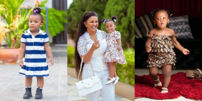Nana Ama Mcbrown retracts her threats on any school that would punish her adorable daughter 1