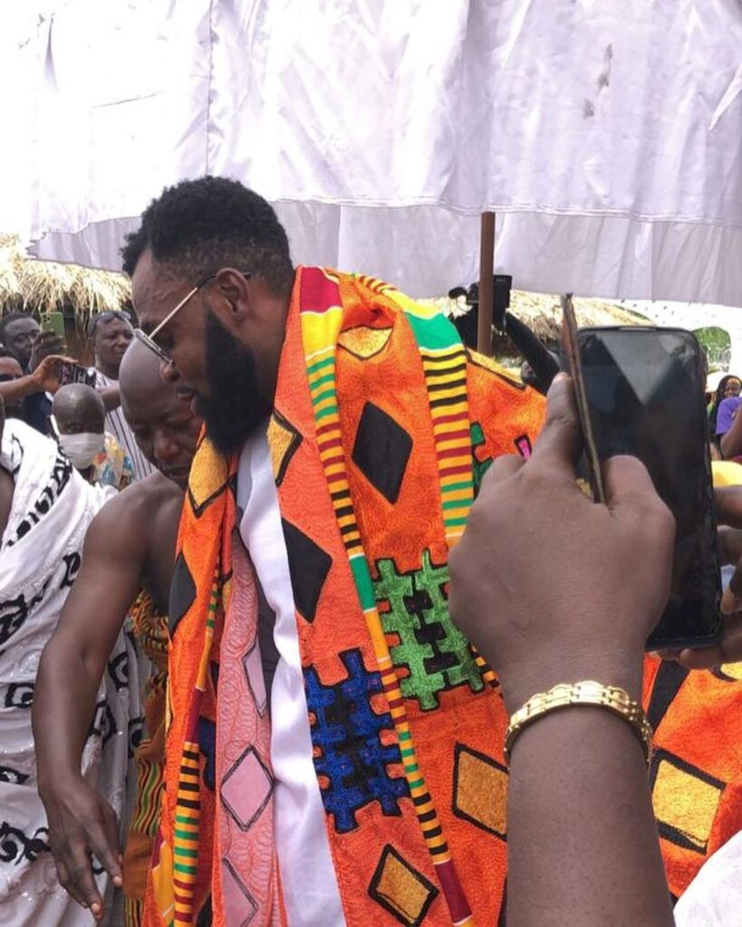 Obofour and wife honoured with chieftaincy titles in Tepa  Video 2