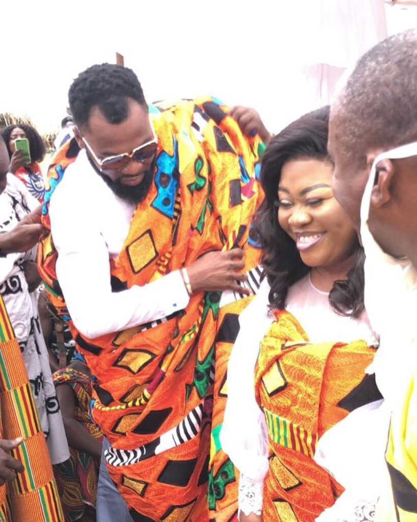 Obofour and wife honoured with chieftaincy titles in Tepa  Video 3