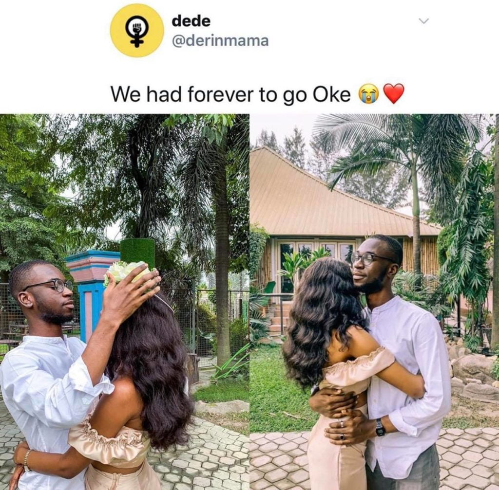 Girlfriend of Nigerian guy who was killed 3 hours after saying 'Nigeria will not end him' reacts 2