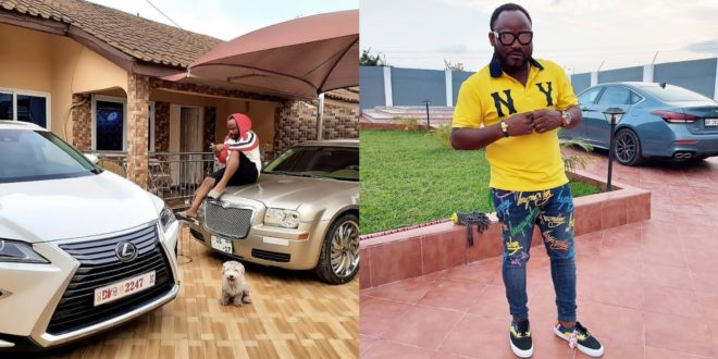 Praye Tiatia flaunts expensive cars and mansion as he marks his Bday 1