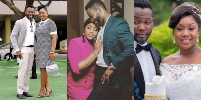 Adjetey Anang crushes on his wife in a new exclusive photo 1