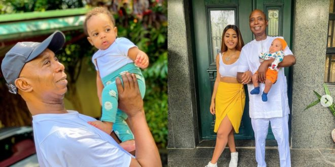 Ned Nwoko Is Bleaching – Fans React to Regina Daniels' new picture with her Husband 1