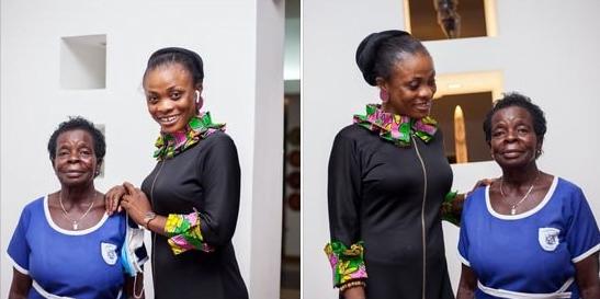 Diana Asamoah Flaunts Her New Found English Teacher 1
