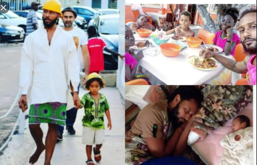 Check Out This Amazing Photo Of Wanlov The Kuborlo And His Children 1