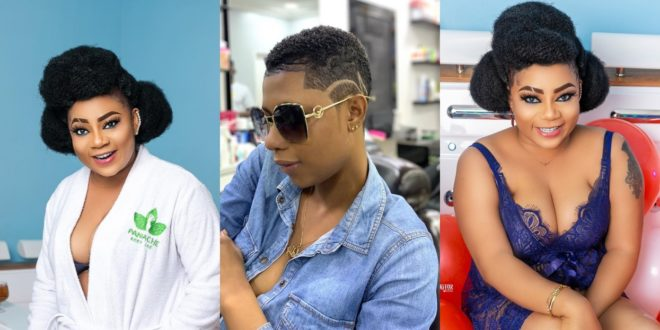 It's Not Every Lady That Can Give Birth – Vicky Zugah indirectly tells Selly Galley 1
