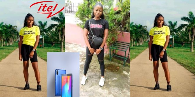 Nora Able: Beautiful Lady Commits Suicide over her lost Itel Phone 1
