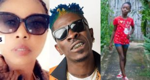 Check out this Rare Photo Of Shatta Wale's 1st Baby Mama, Eden Akosua 56