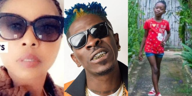 Check out this Rare Photo Of Shatta Wale's 1st Baby Mama, Eden Akosua 1