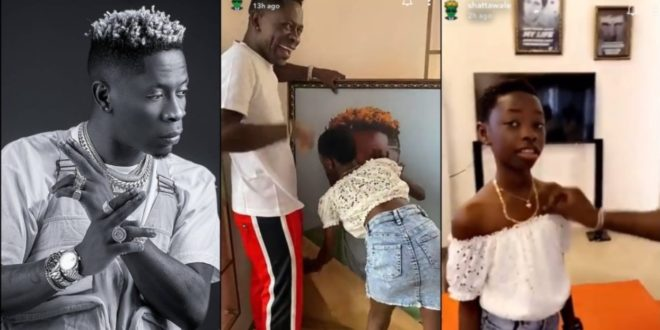 Shatta wale stunned as his Father and Daugther Surprises Him Big Time On His Birthday 1