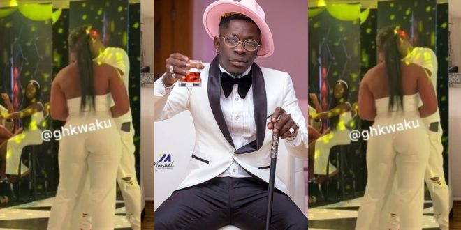 """""""I'll Go Completely Naked For  Shatta Wale"""" – Beautiful Lady Says At Shatta's B'day Party 1"""