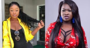 Efia Odo And Sista Afia Fight Dirty On Social Media as they exchange verbal blows 104