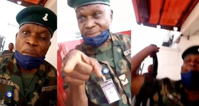 Army officer arrested