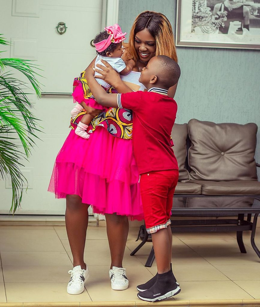 Check Out Photos Of These Kumawood Stars With Their Kids 3