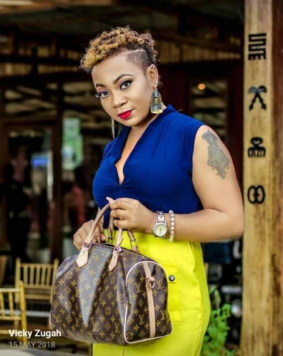 Actress Vicky Zugah
