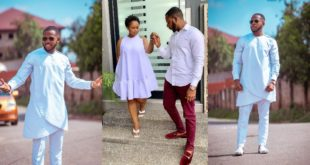 Aaron Adatsi shares new lovely Photo with his baby mama 21