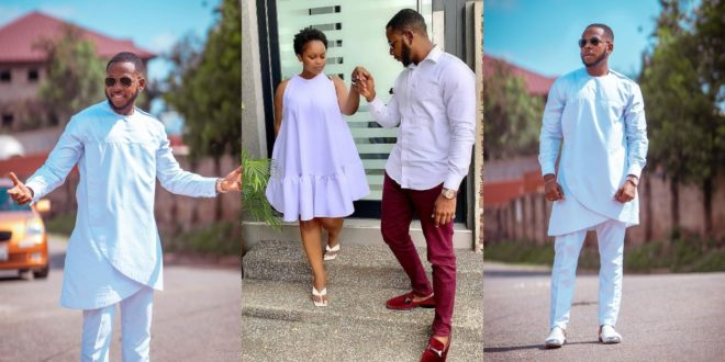 Aaron Adatsi shares new lovely Photo with his baby mama 1