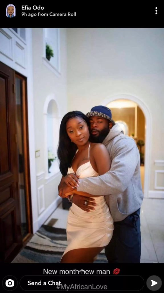 Nigerian men are the best – Efia Odo says as she flaunts new lover 2