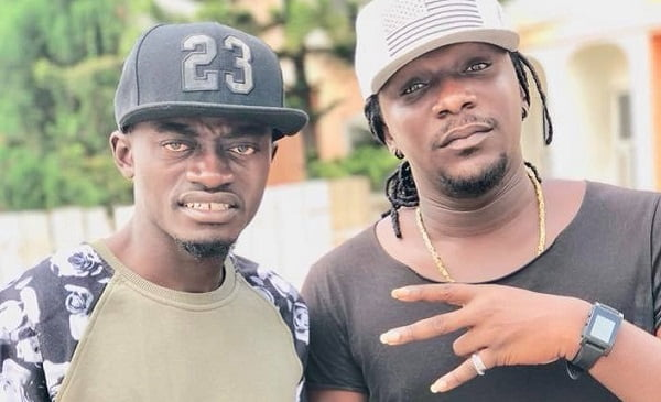 Lilwin and manager Zack