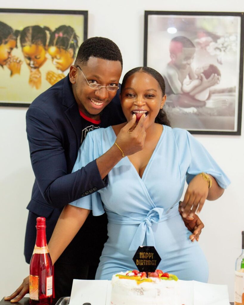 'i Love you so much'- Eyram confesses love to Cyril on his birthday. 2