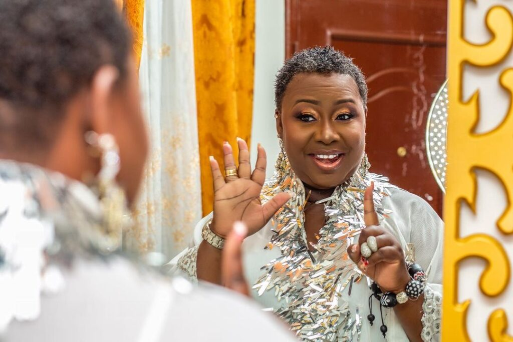 Gifty Anti releases stunning pictures to celebrate her 51st birthday. (photos) 3
