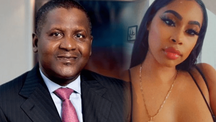 Side-Chick of Dangote drops more secrets once again