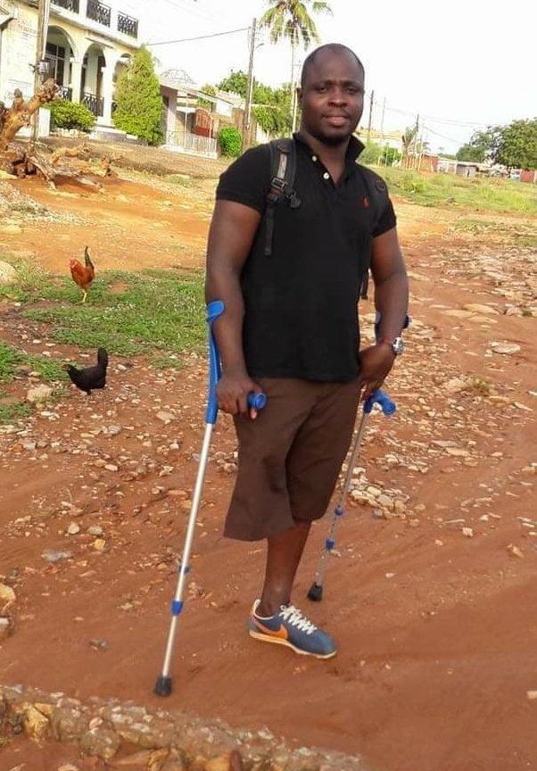 Inspiring: Prez. Nana Addo appoints a physically challenged man as a minister - photos