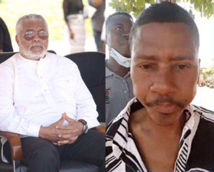 Rawling's alleged 3rd child reveals Nana Konadu Agyeman wanted to kill him - Video