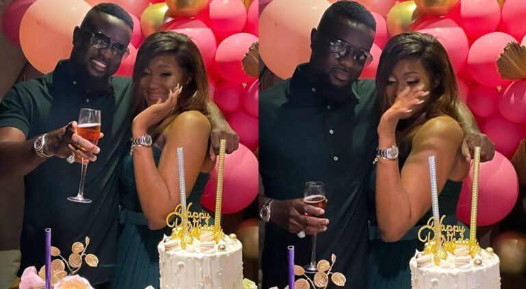 Sarkodie surprises beautiful Female Fan on Her Birthday - Video