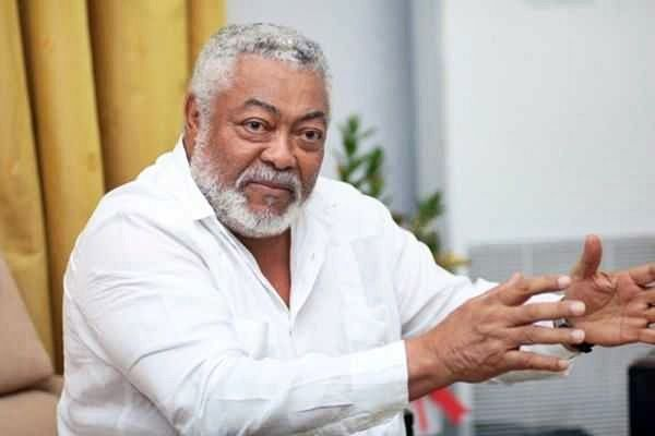 EXCLUSIVE Photos Of Late Jerry John Rawlings In A Casket