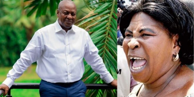 'Mahama can never be president again because I have cursed him'- Akua Donkor 1